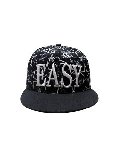 Laslusa EASY Hip Hop Snapback Şapka Siyah